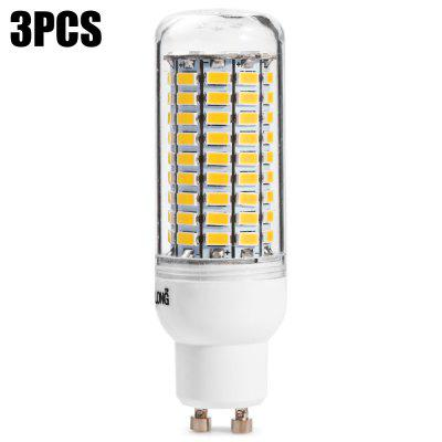 3pcs BRELONG GU10 99 x SMD5730 20W 2000LM LED Corn Bulb