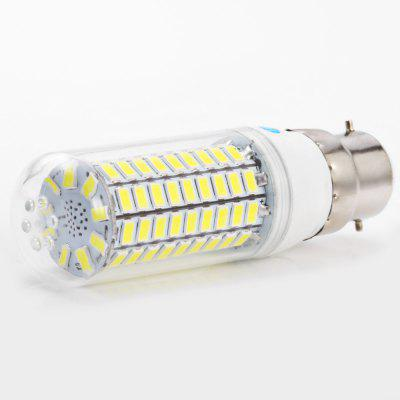 3pcs BRELONG B22 99 x SMD5730 20W 1500LM LED Corn BulbCorn Bulbs<br>3pcs BRELONG B22 99 x SMD5730 20W 1500LM LED Corn Bulb<br><br>Available Light Color: Warm White,White<br>Brand: BRELONG<br>CCT/Wavelength: 3000-3500K,6000-6500K<br>Emitter Types: SMD 5730<br>Features: Long Life Expectancy, Energy Saving<br>Function: Studio and Exhibition Lighting, Commercial Lighting, Home Lighting<br>Holder: B22,E14,E27,G9,GU10<br>Luminous Flux: 1500LM<br>Output Power: 20W<br>Package Contents: 3 x BRELONG LED Corn Light<br>Package size (L x W x H): 10.30 x 4.10 x 11.00 cm / 4.06 x 1.61 x 4.33 inches<br>Package weight: 0.155 kg<br>Product size (L x W x H): 3.10 x 3.10 x 10.00 cm / 1.22 x 1.22 x 3.94 inches<br>Product weight: 0.039 kg<br>Sheathing Material: PC<br>Total Emitters: 99<br>Type: Corn Bulbs<br>Voltage (V): AC 220-240