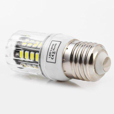 5pcs BRELONG 30 x SMD5733 E27 6W 600LM LED Corn LightCorn Bulbs<br>5pcs BRELONG 30 x SMD5733 E27 6W 600LM LED Corn Light<br><br>Available Light Color: Warm White,White<br>Brand: BRELONG<br>CCT/Wavelength: 3000-3500K,6000-6500K<br>Emitter Types: SMD 5733<br>Features: Long Life Expectancy, Energy Saving<br>Function: Studio and Exhibition Lighting, Commercial Lighting, Home Lighting<br>Holder: B22,E14,E27,G9,GU10<br>Luminous Flux: 600LM<br>Output Power: 6W<br>Package Contents: 5 x BRELONG LED Corn Light<br>Package size (L x W x H): 16.50 x 4.10 x 8.80 cm / 6.5 x 1.61 x 3.46 inches<br>Package weight: 0.1800 kg<br>Product size (L x W x H): 3.10 x 3.10 x 7.80 cm / 1.22 x 1.22 x 3.07 inches<br>Product weight: 0.0260 kg<br>Sheathing Material: PC<br>Total Emitters: 30<br>Type: Corn Bulbs<br>Voltage (V): AC 220-240