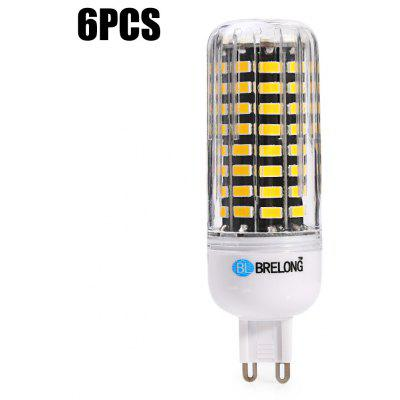 6ks BRELONG G9 1500Lm 15W SMD5733 80 LED žárovka