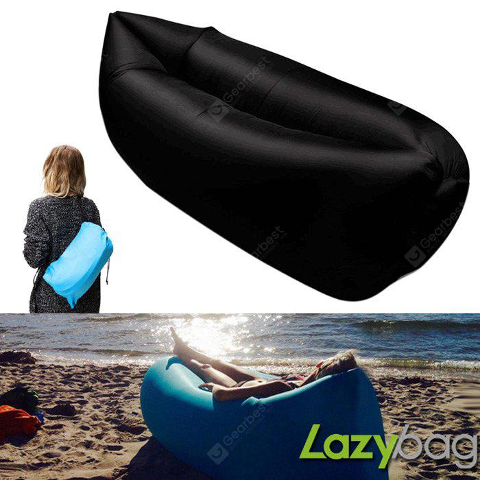 Gearbest Inflatable Folding Sleeping Lazy Bag