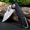 Sanrenmu 7033 LUC-PH Liner Lock Folding Knife - BLACK