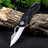 Buy BLACK Sanrenmu 7033 LUC-PH Liner Lock Folding Knife for $8.48 in GearBest store