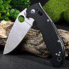 BROTHER 1601 Axis Lock Folding Camping Knife - BLACK