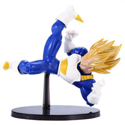 PVC + ABS Action Figure Japanese Anime Character Model Home Office Decoration - 5.5 inch