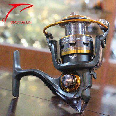 DIAODELAI DK-4000 11 Ball Bearings Spinning Fishing Reel