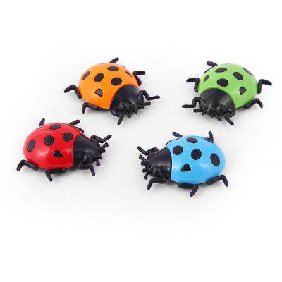 FUNI CT-6806 Magnetic Whiteboard Stickers Mini Ladybug 4PCS for Education