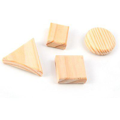 FUNI MC-8201 4PCS Wood Magnets