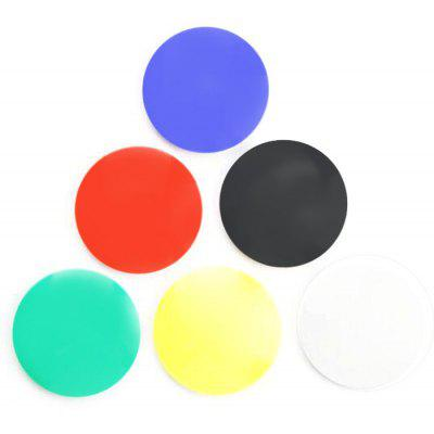 FUNI CT-6651 6PCS Whiteboard Round Magnets for Office