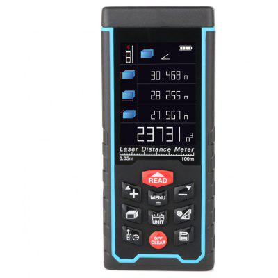 RZAS50 Digital Laser Distance Meter Rangefinder 100m Range with LCD Display