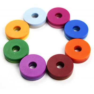 FUNI CT-977 8PCS Round Shape Whiteboard Magnet for Office