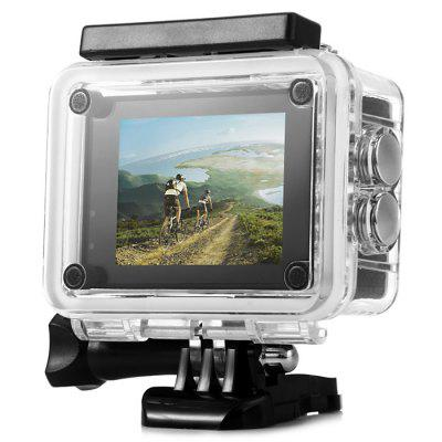 F60B 4K WiFi 170 Degree Wide Angle Action CameraAction Cameras<br>F60B 4K WiFi 170 Degree Wide Angle Action Camera<br><br>Battery Type: Removable<br>Camera Pixel: 8.0MP<br>Capacity: 900mAh<br>Charge way: USB charge by PC<br>Chipset: Allwinner V3<br>Chipset Name: Allwinner<br>Class Rating Requirements: Class 10 or Above<br>Decode Format: H.264<br>Delay Shutdown: Yes<br>Exposure Compensation: +1,+2,+3,-1,-2,-3,0<br>Features: Wireless<br>Function: Loop-cycle Recording<br>HDMI Output: Yes<br>Image Format: JPG<br>Interface Type: TF Card Slot, Micro USB, Micro HDMI<br>ISO: Auto<br>Language: English,French,German,Italian,Japanese,Korean,Polski,Portuguese,Russian,Simplified Chinese,Spanish,Traditional Chinese<br>Loop-cycle Recording: Yes<br>Loop-cycle Recording Time: 2min,3min,5min<br>Max External Card Supported: TF 64G (not included)<br>Model: F60B<br>Operating Temp.: -10 - 55 centigrade degree<br>Package Contents: 1 x F60B 4K Action Camera + Waterproof Housing + Long Screw, 1 x Power Adapter, 1 x Frame, 1 x USB Cable, 1 x Flat Surface Base, 1 x Curved Surface Base, 2 x Short Connector + Screw, 1 x Long Connecto<br>Package size (L x W x H): 30.00 x 20.00 x 9.00 cm / 11.81 x 7.87 x 3.54 inches<br>Package weight: 0.6000 kg<br>Product size (L x W x H): 5.00 x 2.00 x 4.10 cm / 1.97 x 0.79 x 1.61 inches<br>Product weight: 0.0600 kg<br>Scene: Auto<br>Screen resolution: 320x240<br>Screen size: 2.0inch<br>Screen type: LCD<br>System requirements: Mac OS x 10.3.6 above,Win 7,Windows 2000 / XP / Vista<br>Time Stamp: Yes<br>Type: Sports Camera<br>Video format: MP4<br>Video Output: HDMI<br>Video Resolution: 1080P (1920 x 1080),2.7K ( 2688 x 1520 ),4K (3200 x 1800),720P (1280 x 720)<br>Video System: NTSC<br>Water Resistant: 30m<br>Waterproof: Yes<br>White Balance Mode: Cloudy, Fluorescent, Incandescent, Sunny, Auto<br>Wide Angle: 170 degree wide angle<br>WIFI: Yes<br>WiFi Distance: 10m<br>WiFi Function: Image Transmission,Remote Control,Settings,Sync and Sharing Albums<br>Working Time: 