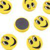 cheap FUNI CT-6659 Office Smile Round Magnets Message Stickers Beans 10PCS