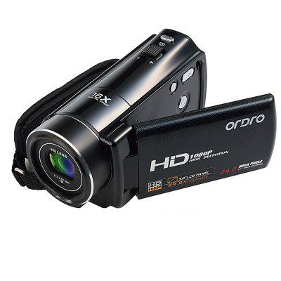Ordro HDV - V7 3pollici LCD Digital Video Camera HD Camcorder DV