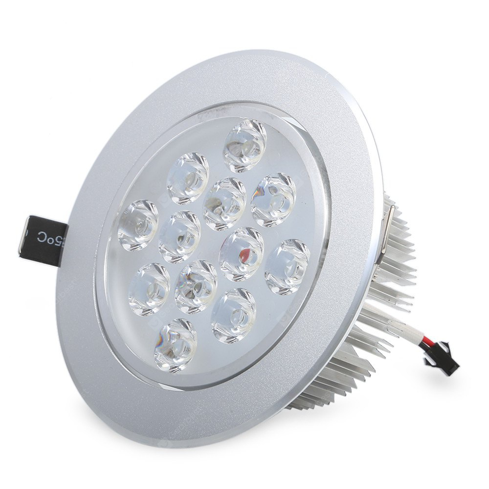 YouOkLight 1100Lm 6000K 12W Dimmable LED Down Licht
