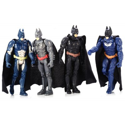 4Pcs / Set PVC Movie Action Figure Movable Joint Cartoon Decor - 4 inch