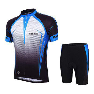BASECAMP BC-524 Antibacterial Men Short Sleeve Cycling Suits