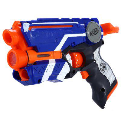 Nerf N-Strike Elite 20m Range Safe Gun Kid Game Toy 6Pcs Foam Dart