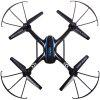 SKRC D20W 2.4G 4 Channel 6-axis Gyro Quadcopter with HD Camera - BLACK