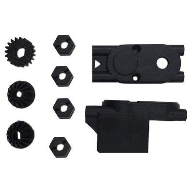 HBX 2098B 1 / 24 4WD Original Front / Rear Pinion Gear Motor Gear Centre Gear Box Housing Set RC Car Spare Part