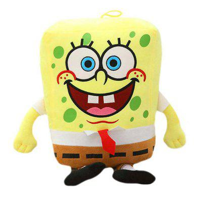 8.6 inch Sponge Shape Design Cute Plush Toy Stuffed Doll Children Present