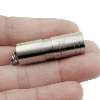 DQG Hobi Plus Titanium Alloy Mini LED Flashlight