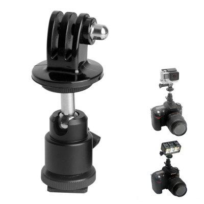 Fat Cat DSLR Ball Head Hot Shoe Adapter Mount Holder for GoPro