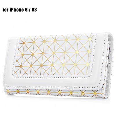 Grid Pattern Full Body Protective Case for iPhone 6 / 6S