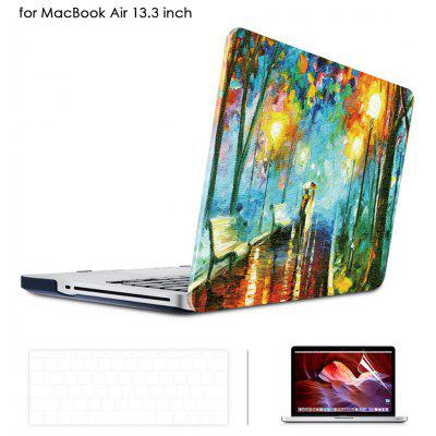 Oil Painting Style Protective Hard Case for MacBook Air 13.3 inch