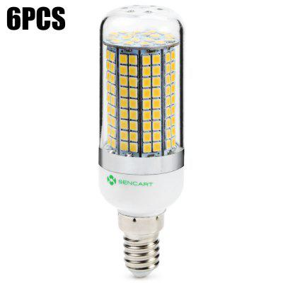 6 x Sencart E14 1500LM 15W 180 SMD2835 LED Corn Light