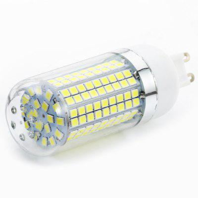 6pcs Sencart G9 1500LM 15W SMD2835 180 LED Corn BulbCorn Bulbs<br>6pcs Sencart G9 1500LM 15W SMD2835 180 LED Corn Bulb<br><br>Available Light Color: White<br>Brand: Sencart<br>CCT/Wavelength: 6000-6500K<br>Emitter Types: SMD 2835<br>Features: Long Life Expectancy, Energy Saving<br>Function: Studio and Exhibition Lighting, Commercial Lighting, Outdoor Lighting<br>Holder: G9<br>Luminous Flux: 1500Lm<br>Output Power: 15W<br>Package Contents: 6 x Sencart LED Corn Light<br>Package size (L x W x H): 10.00 x 7.00 x 11.50 cm / 3.94 x 2.76 x 4.53 inches<br>Package weight: 0.230 kg<br>Product size (L x W x H): 3.00 x 3.00 x 10.50 cm / 1.18 x 1.18 x 4.13 inches<br>Product weight: 0.035 kg<br>Sheathing Material: ABS<br>Total Emitters: 180<br>Type: Corn Bulbs<br>Voltage (V): AC 110-120,AC 220-240