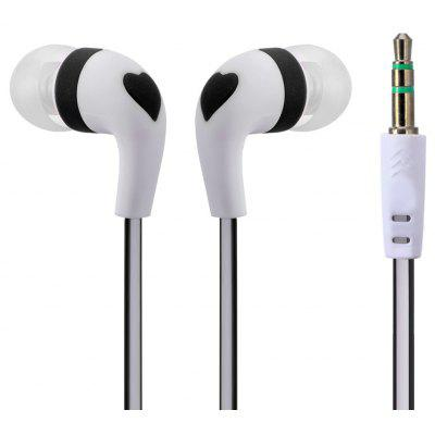 SMZ - 630 Flat Cable Design 3.5MM Jack Deep Bass Stereo Earphone