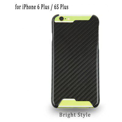 Carbon Protective Back Cover Case for iPhone 6 Plus / 6S Plus