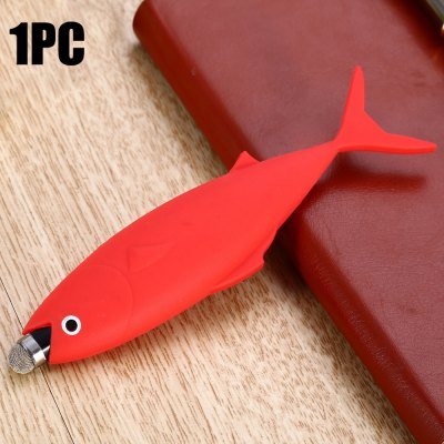 DY04 Silicon Fish Style Touch Pen Capacitive Touchscreen Stylus
