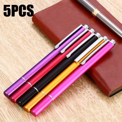 5PCS XP09 Aluminum Alloy Capacitive Touch Pen Fine Point Stylus
