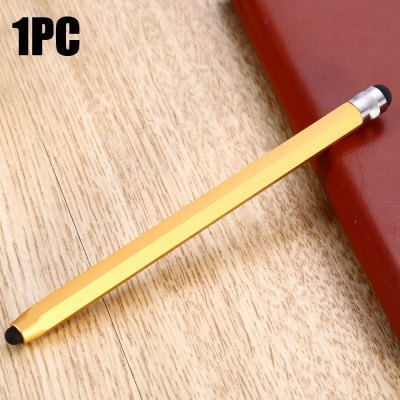 QB08 Hexagonal Pencil Design Phone Screen Stylus Double Head Touch Pen