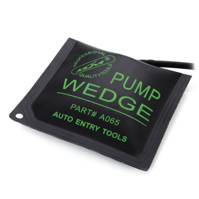 KLOM Medium Air Pump WedgeLock Picks and Tools<br>KLOM Medium Air Pump Wedge<br><br>Brand: Klom<br>Color: Green<br>Material: Gum<br>Package Contents: 1 x Medium Air Wedge, 1 x Pump<br>Package size (L x W x H): 28.00 x 24.80 x 4.10 cm / 11.02 x 9.76 x 1.61 inches<br>Package weight: 0.150 kg<br>Packing Type: Single Piece<br>Product weight: 0.099 kg<br>Special function: Air Pump Wedge