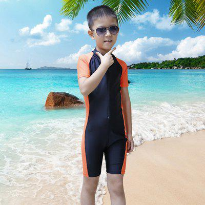 SBART Kids Short Sleeve Jumpsuits Wetsuit Swimsuit