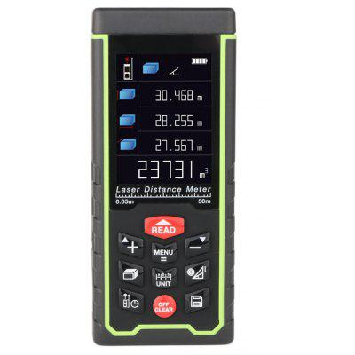 RZAS50 Digital Laser Distance Meter Rangefinder 50m Range with LCD Display