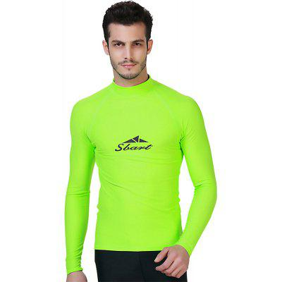 SBART Men Long Sleeve Polyamide Sun-resistant Wetsuit