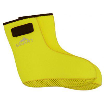 Buy YELLOW L SBART Kids Children Nylon Diving Socks for water Sports for $4.09 in GearBest store