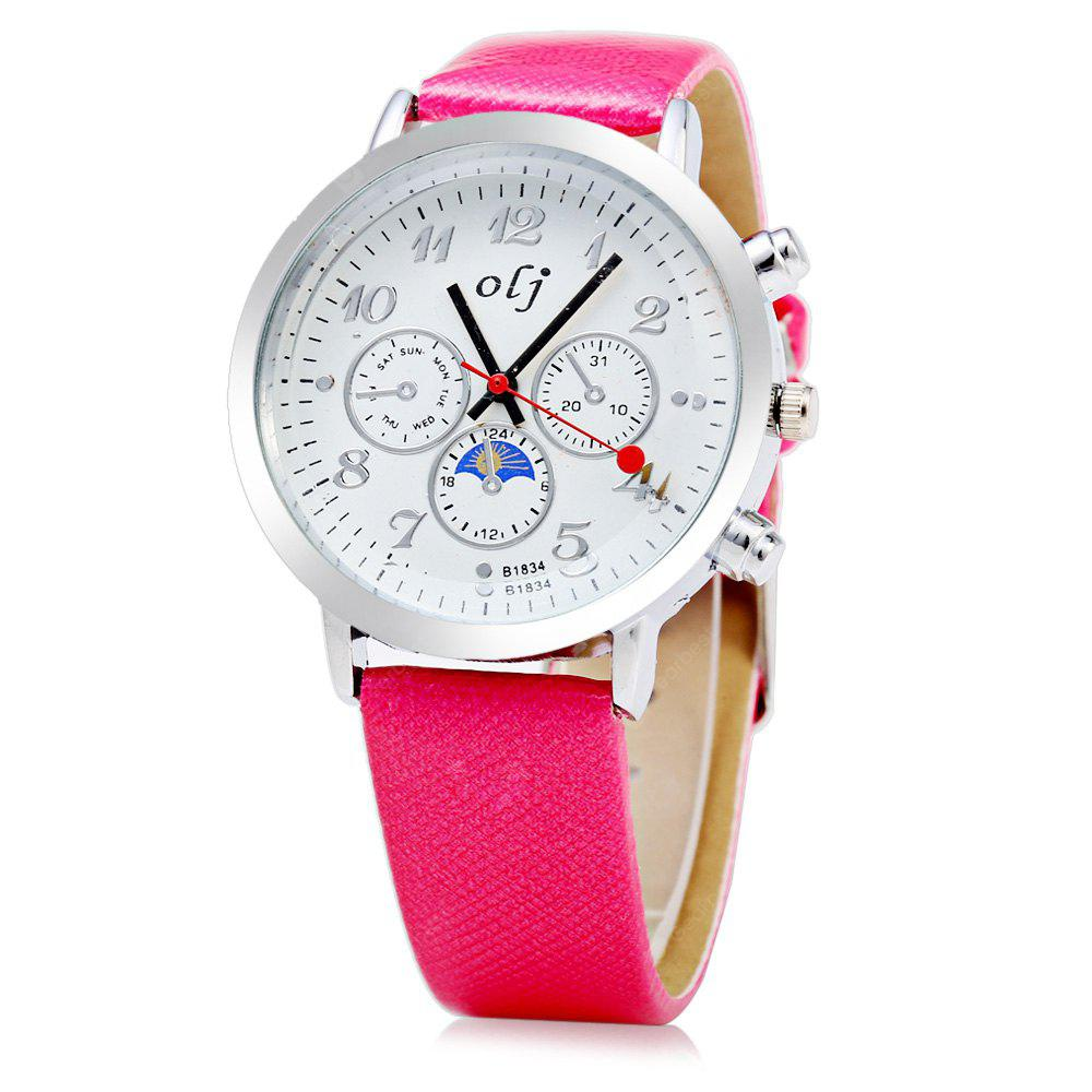 OLJ B1834 Fashion Style femmes Quartz
