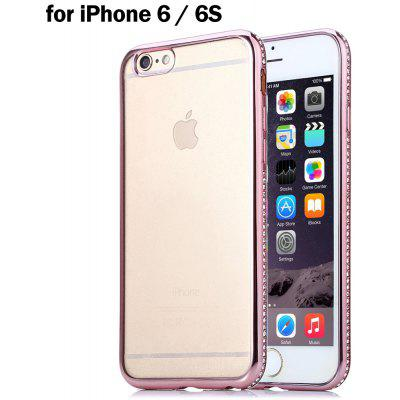 Plated Edge Style TPU Soft Protective Case for iPhone 6 / 6S