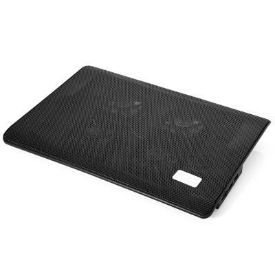 NUOXI L112 2 Fans Laptop Cooler Pad with Blue Lights