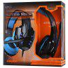 KOTION EACH G9000 3.5mm USB Gaming Headset Over Ear Headpones for PS4 - BLACK AND BLUE
