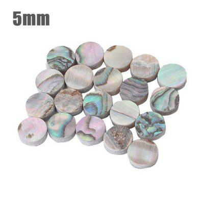 GF - 01 50Pcs Mini 5mm Abalone Shell Inlay Dot for Guitar Ukulele Fingerboard