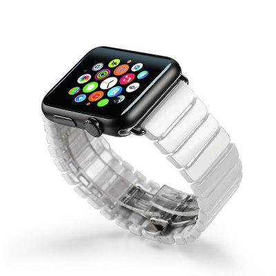 Ceramic Solid Links Watchband for Apple Watch 42mm