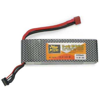 ZOP Power ZOP 5200mAh 14.8V 30C Battery T / XT60 Plug for RC Airplane / Boat
