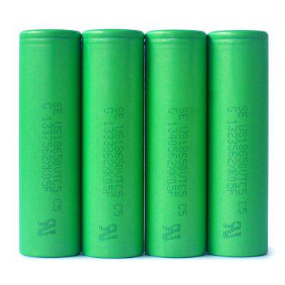 4 x US18650 VTC5 2600mAh 30A 3.7V 18650 Rechargeable Li-ion Battery