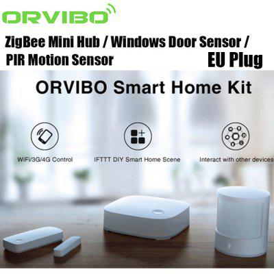 ORVIBO Smart Home Suit Wireless Remote Control System - EU PLUG WHITE-vente flash
